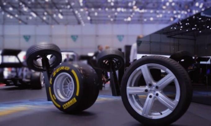 Pirelli PZero stradale al Salone di Ginevra, lo pneumatico che fa innamorare