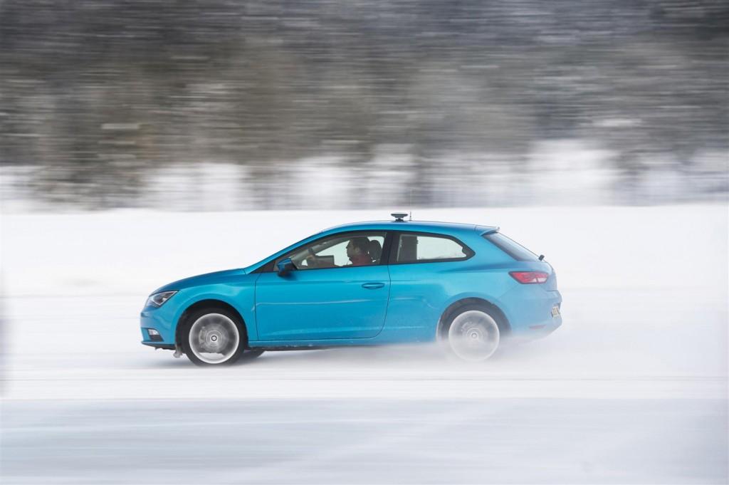 SEAT Leon SC - Test invernali