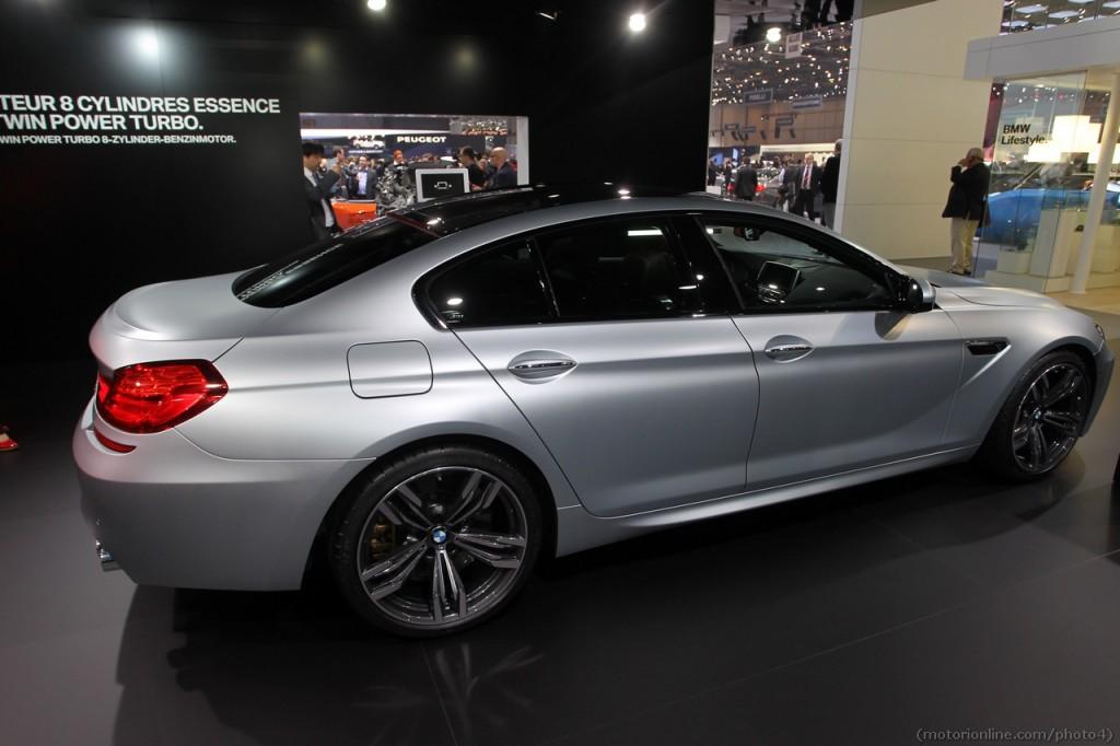 BMW M6 Gran Coupé, ecco all'opera l'elegante e sportiva novità di Monaco di Baviera