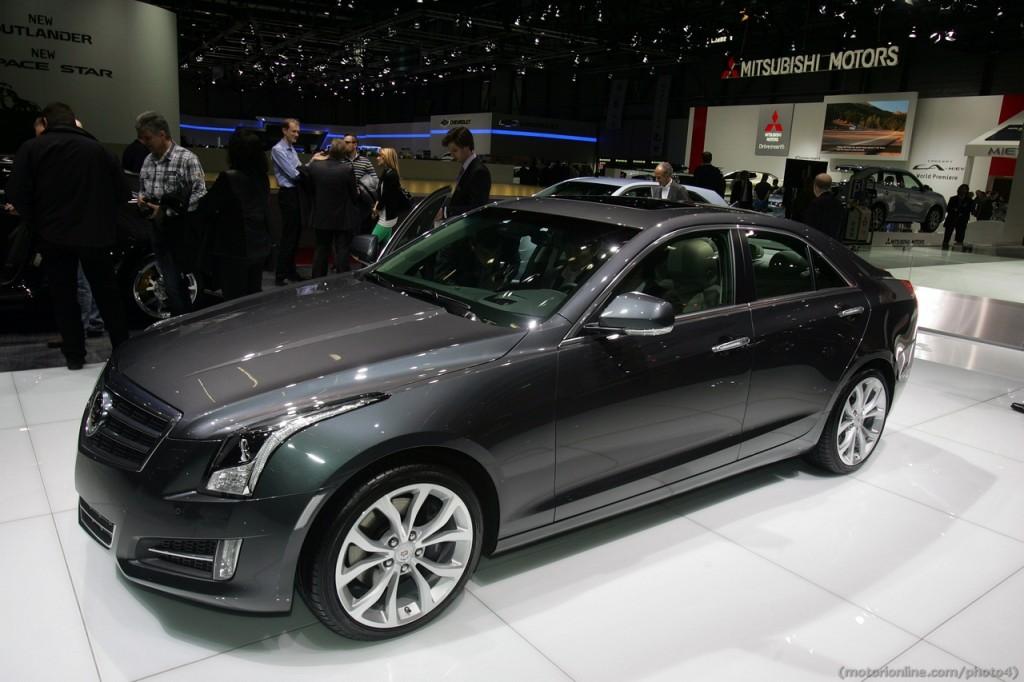 Cadillac ATS - Salone di Ginevra 2013