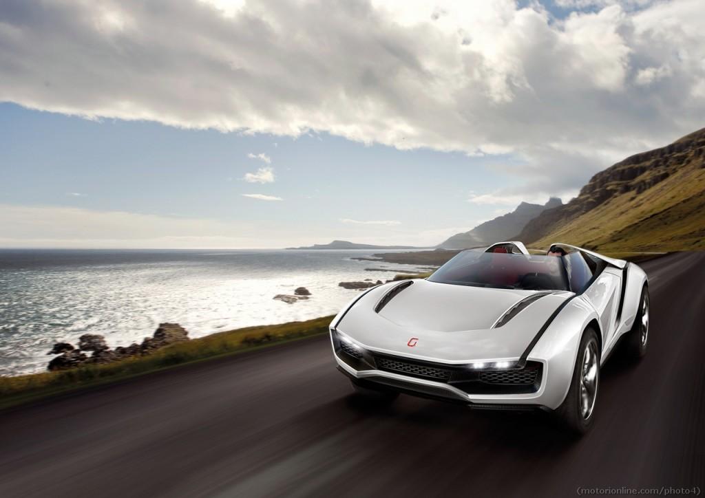 Italdesign Giugiaro Parcour Roadster - Salone di Ginevra 2013