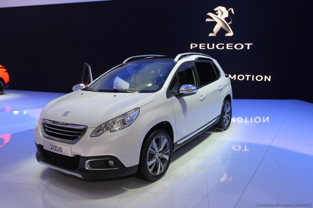 Peugeot 2008, svelati i prezzi per il mercato italiano
