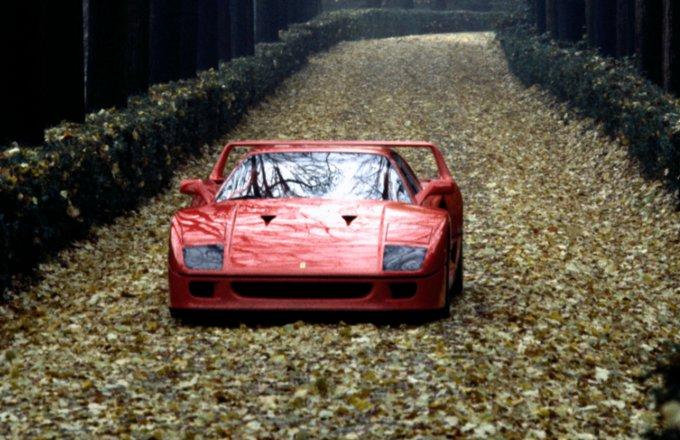 La Ferrari F40 ancora protagonista