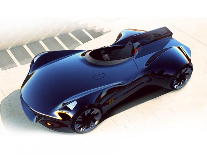 Jaguar XK-1, il concept design che fa rivivere la D-Type