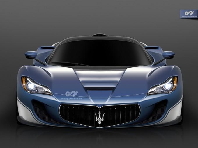 Maserati LaMaserati, un render basato su LaFerrari