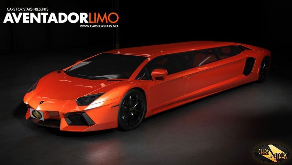Lamborghini Aventador Limo