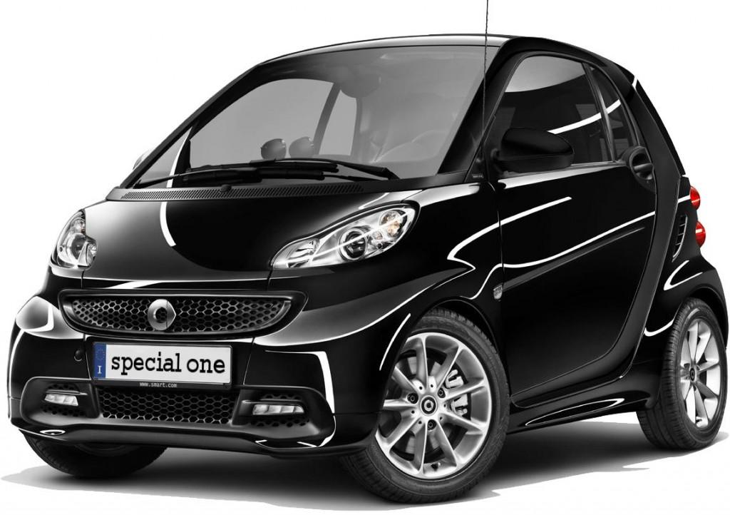Smart Fortwo Special One: disponibile al prezzo di 9.760 euro
