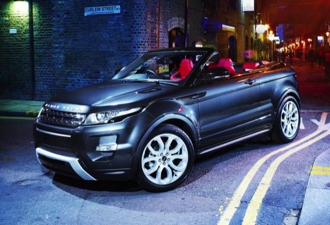 Range rover evoque niente cabrio ma forse un tetto for Auto prossime uscite