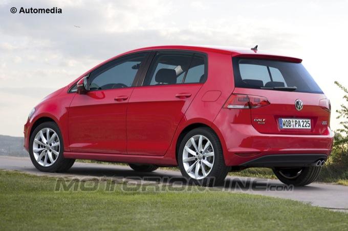 Volkswagen Golf Plus: rendering della futura generazione