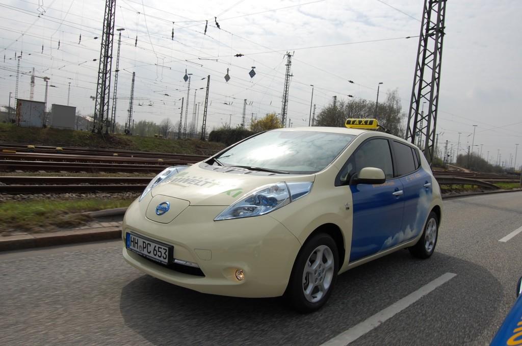 Nissan Leaf alla conquista del settore taxi