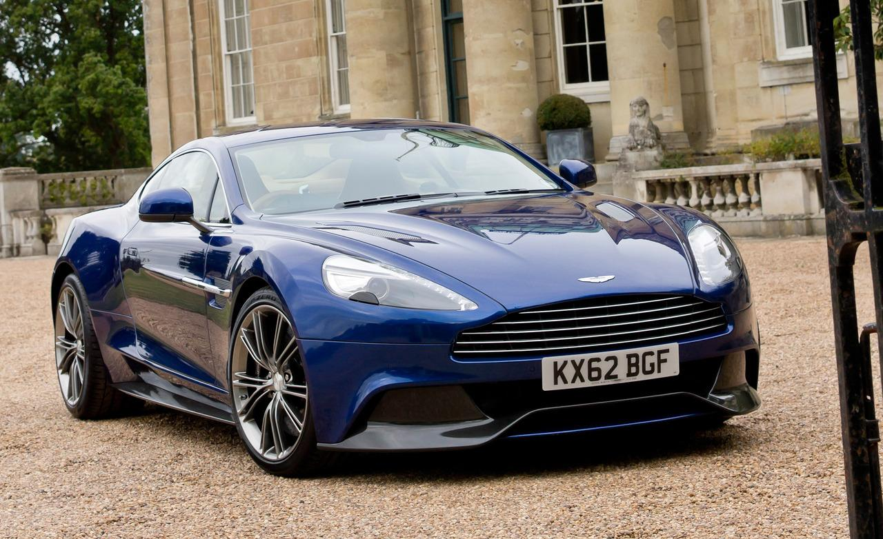 Aston Martin Vanquish Wallpaper 2013 Blue Aston Martin, si ripar...