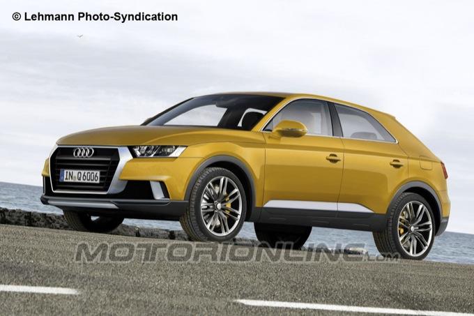 Audi Q6 2015, potrebbe essere così