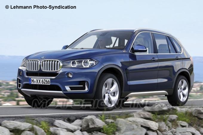 BMW X5 2014, nuovo render del SUV di Monaco di Baviera