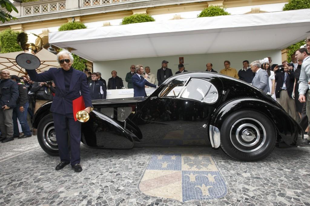 Bugatti Atlantic Price >> Bugatti 57SC Atlantic: Coppa d'Oro al Concorso d'Eleganza di Villa d'Este 2013