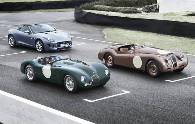 Jaguar alla Mille Miglia 2013 con un team di piloti speciali