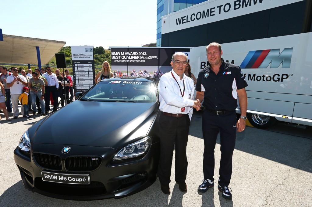 BMW M Award 2013: una M6 Coupé per il migliore in qualifica nella stagione della MotoGP