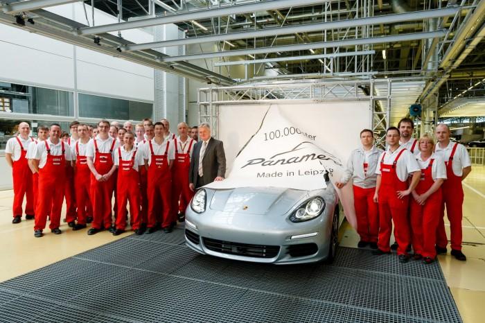 Porsche: realizzato il 100.000° esemplare di Panamera