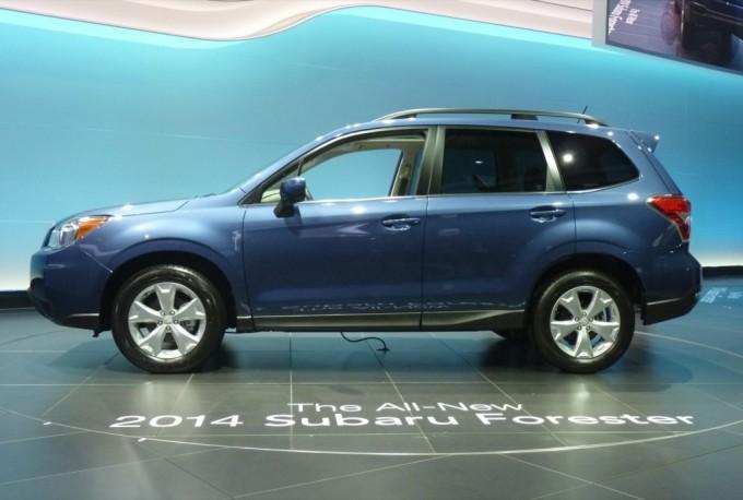 Subaru Forester insignita del Top Safety Pick+ 2013