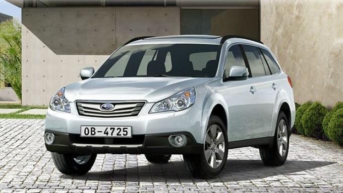 Subaru Outback MY 2013, nuovo look e nuovo motore