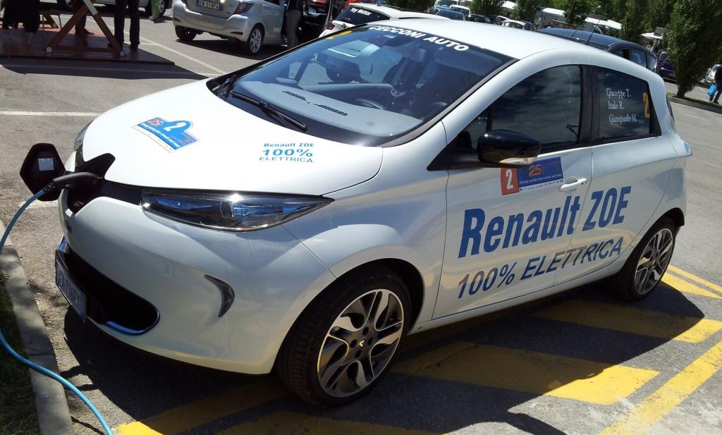 Renault Zoe trionfa alla 25 Ore di Magione