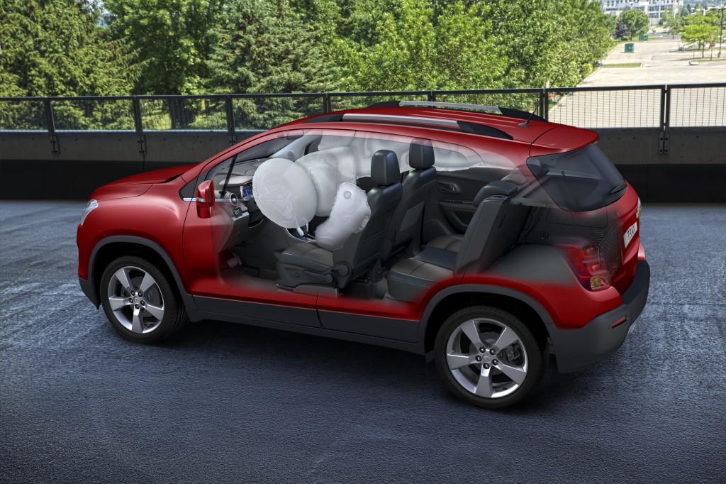 Chevrolet Trax riceve le 5 stelle Euro NCAP