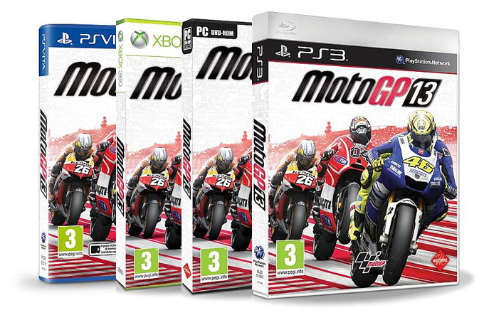 MotoGP 13, copertina ufficiale rilasciata dalla Milestone