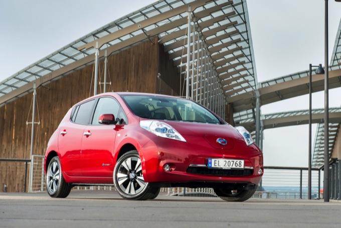 Nissan Leaf sarà presente all'evento Smart Cities in Pole Position