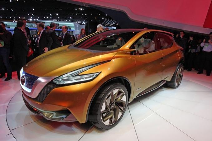 Nissan Resonance Concept - Salone di Detroit 2013
