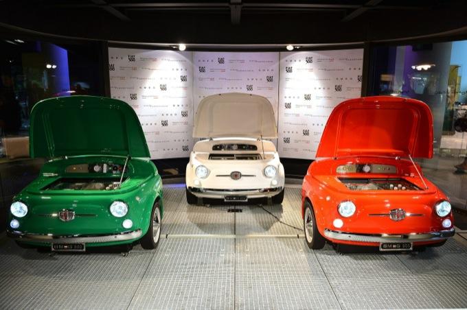 Fiat 500 classica, un frigorifero di design creato da Smeg