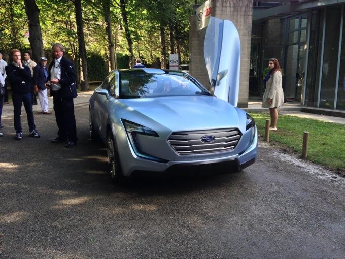 Subaru Viziv Concept Le Ultime Foto Live Dal Concorso Deleganza Di