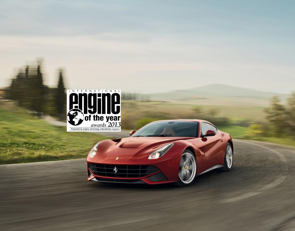 """Ferrari festeggia il titolo di """"Best Performance Engine"""" e di """"Miglior motore oltre i 4 litri"""""""