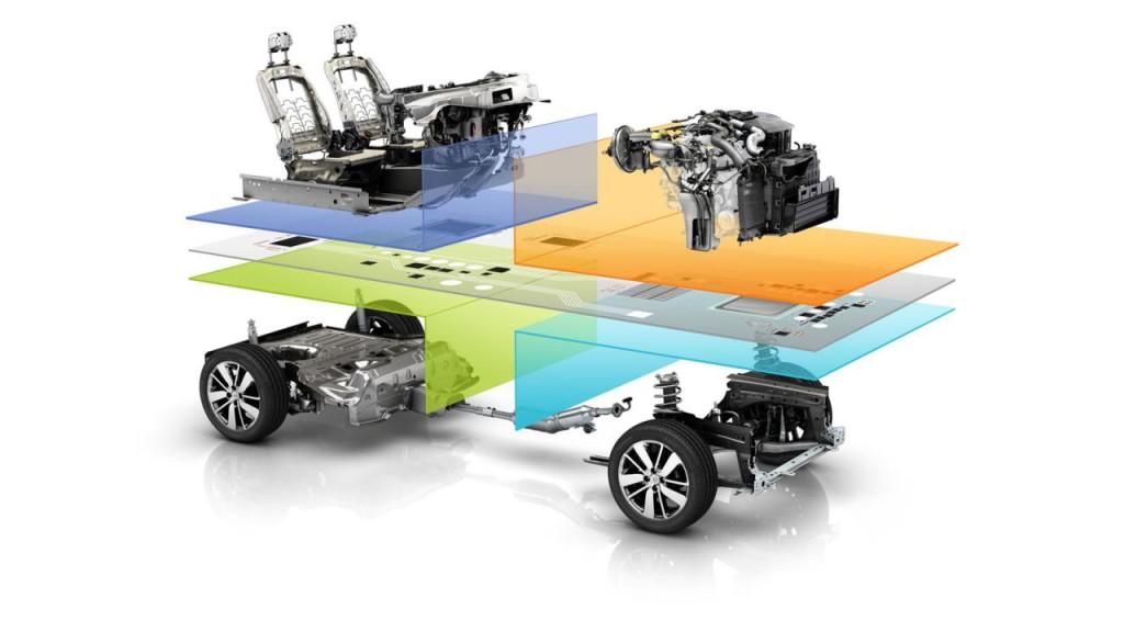 Renault-Nissan, l'Alleanza svela la piattaforma CMF