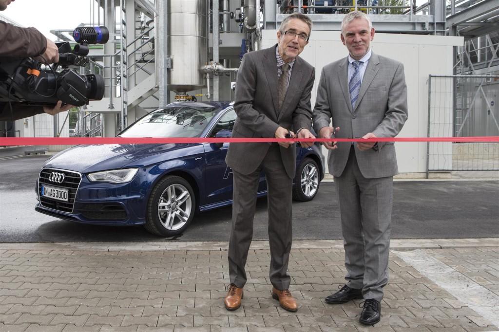 Audi impianto e-gas