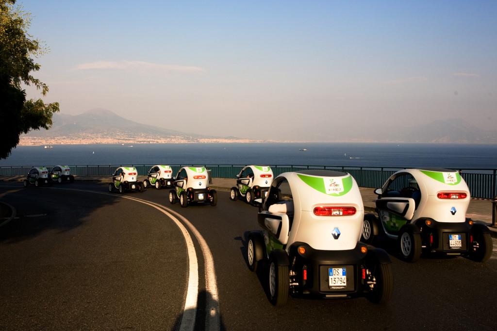 Renault Twizy e Bee insieme per l'e-sharing a Napoli