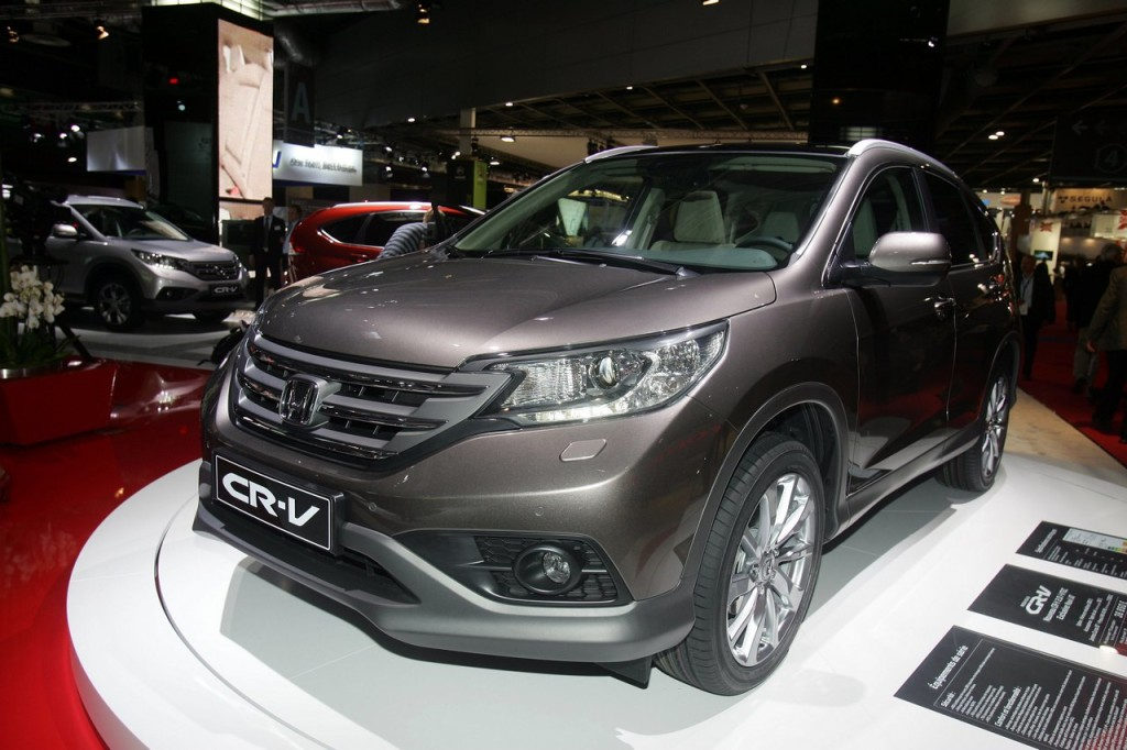 Honda CR-V conquista le 5 stelle Euro NCAP