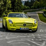Mercedes SLS AMG Electric Drive - Nurburgring (3)