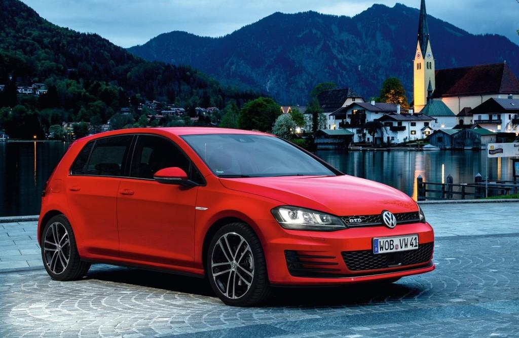 Volkswagen Golf 2014 Red Volkswagen Golf Gtd 2014