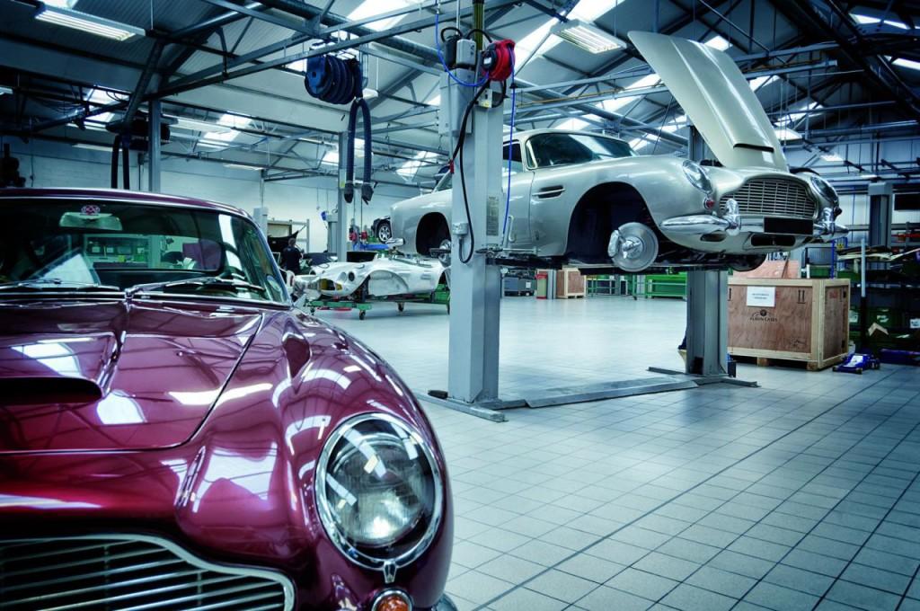 Aston Martin apre l'Heritage Showroom