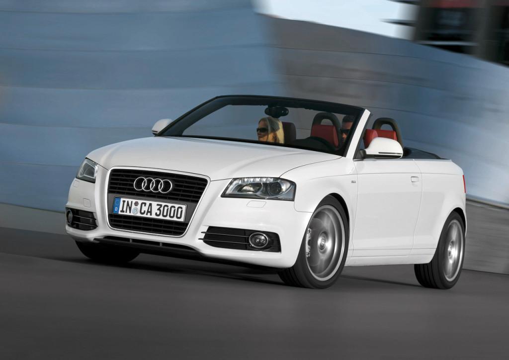 Audi A3 Cabriolet, confermata per il Salone di Francoforte