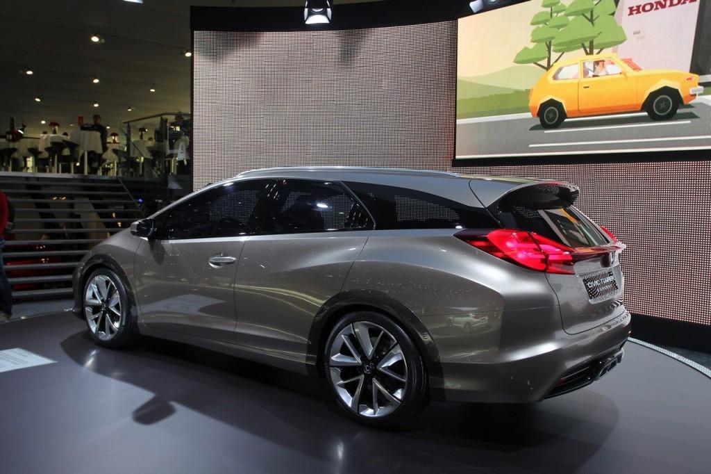 Honda Civic Tourer, nuove informazioni