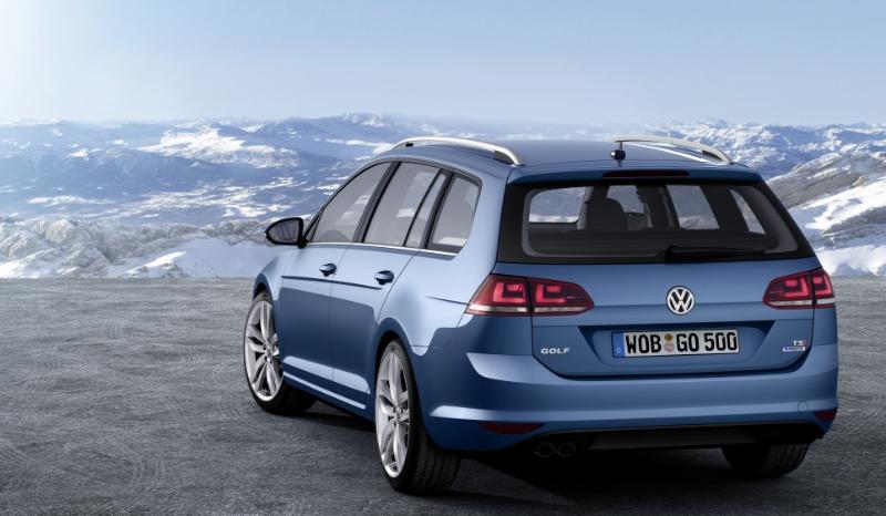 Volkswagen Golf 7 Variant, disponibile su ordinazione