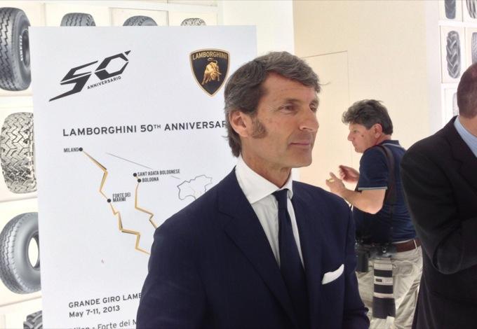 Lamborghini, Stephan Winkelmann riceve il Premio Internazionale Barsanti e Matteucci