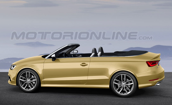 audi s3 cabrio 2014 render della nuova scoperta di ingolstadt. Black Bedroom Furniture Sets. Home Design Ideas