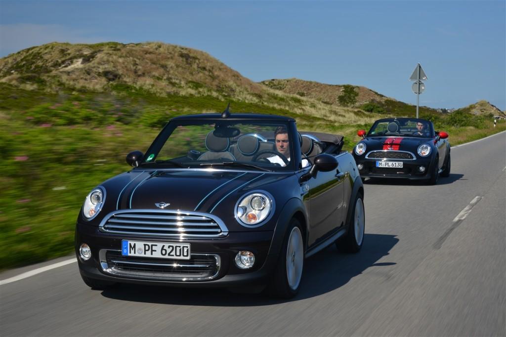 MINI Cabrio e Roadster - Foto ufficiali 2013