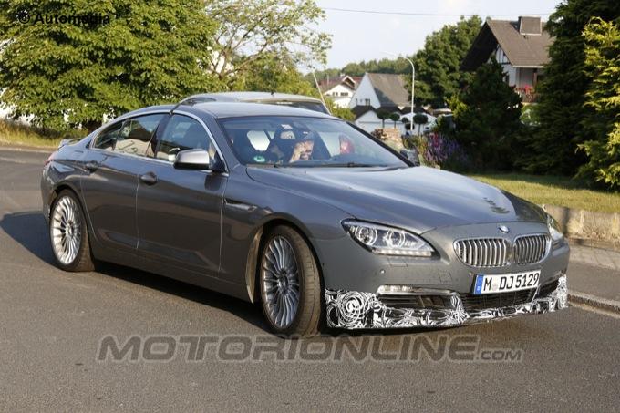 Alpina BMW Serie 6 Gran Coupé, il nuovo gioiellino immortalato nelle ultime foto spia