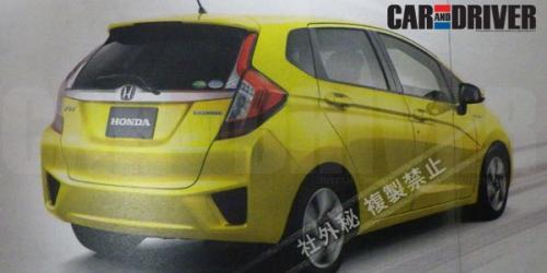 Honda Jazz, sfugge un'altra immagine della nuova generazione