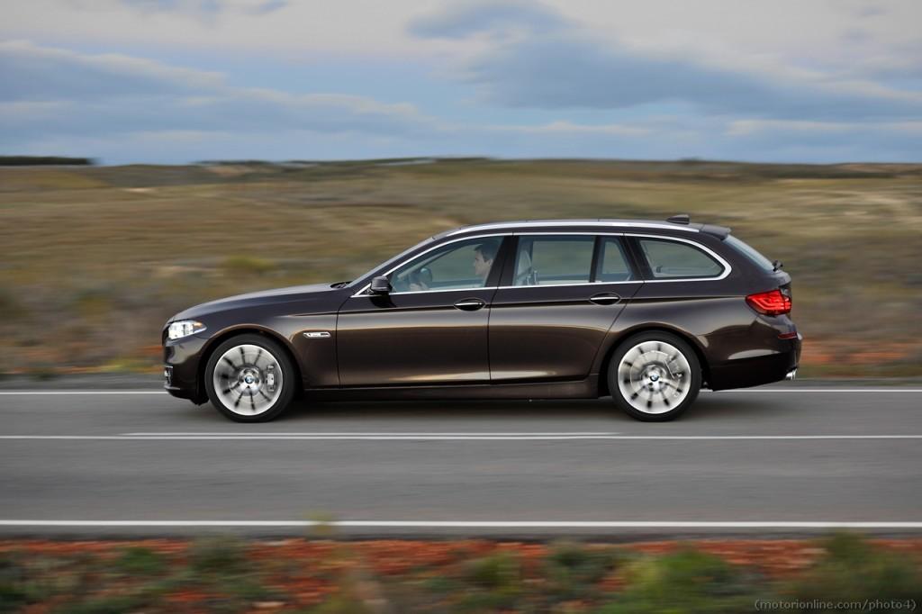 Nuova BMW Serie 5 Touring, mix di dinamismo e versatilità