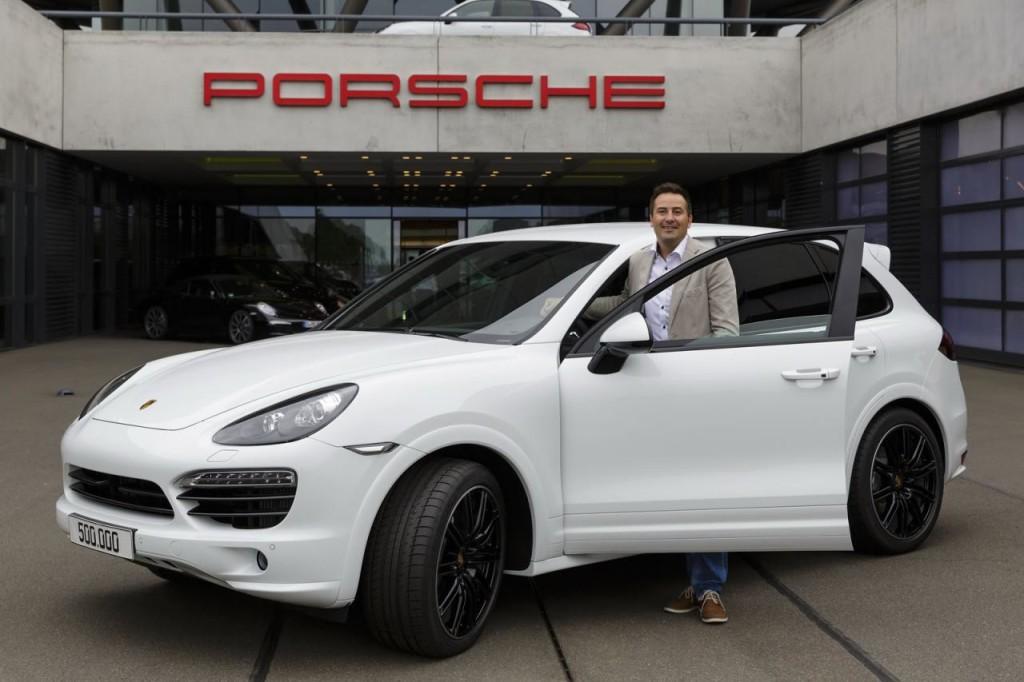 Porsche Cayenne, prodotto il 500.000° esemplare