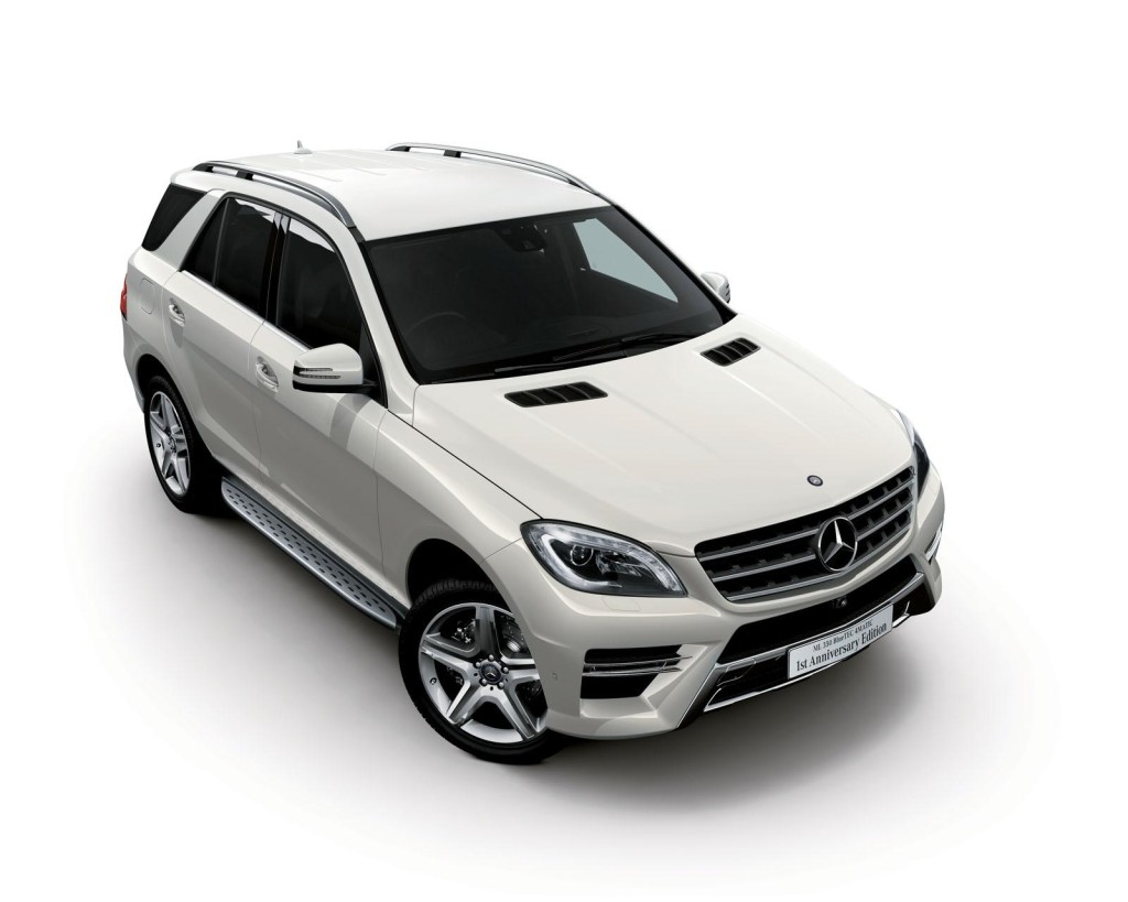 mercedes ml350 bluetec 4matic 1st anniversary edition. Black Bedroom Furniture Sets. Home Design Ideas