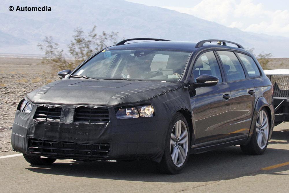 Volkswagen Passat 2015 - Foto spia 22-08-2013